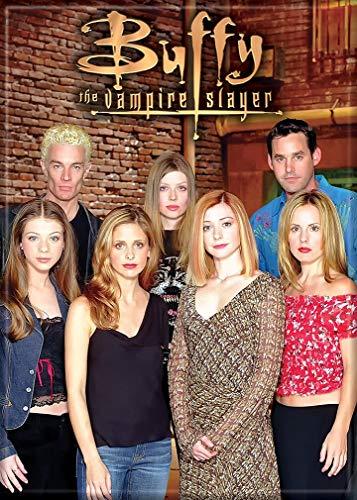 "Ata-Boy Buffy The Vampire Slayer Cast 2.5"" x 3.5"" Magnet for Refrigerators and Lockers"