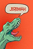 Jeremiah: dinosaur Tyrannosaurus Blank Comic Book Notebook Journal book 120 pages 6'x9'