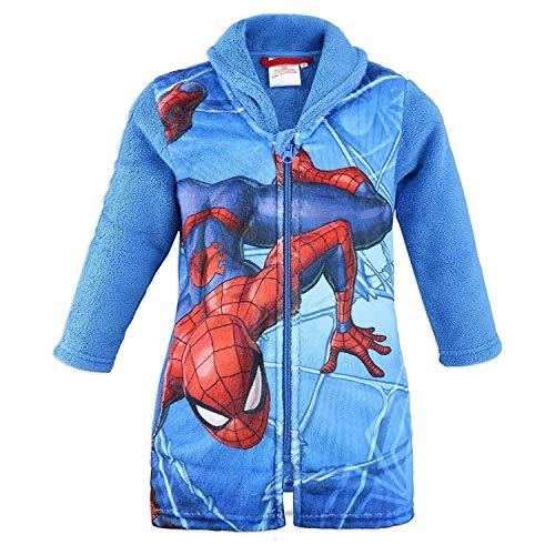 Marvel HS2055 Bademantel Spiderman, Coral-Fleece, für Jungen