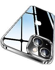 CASEKOO iPhone13 用 ケース クリア 耐衝撃 感 米軍MIL規格 耐久 SGS認証 カバー ストラップホール付き ワイヤレス充電対応 2021年 アイフォン 13 用 カバー 6.1 インチ ケース(クリア)