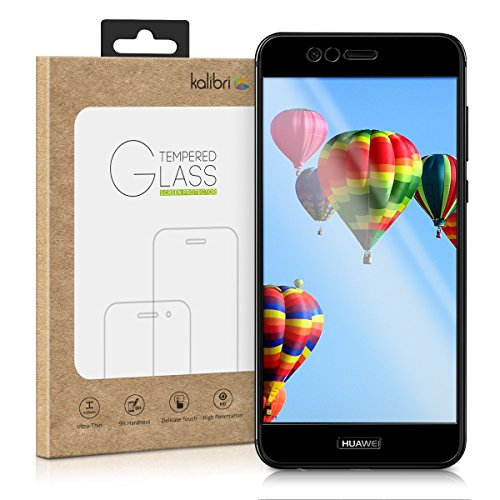 Huawei Nova 2 Plus Folie - 3D Glas Handy Schutzfolie für Huawei Nova 2 Plus - Auch für gewölbtes Display