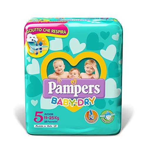Pampers Baby Dry Junior Windeln, 23Stück