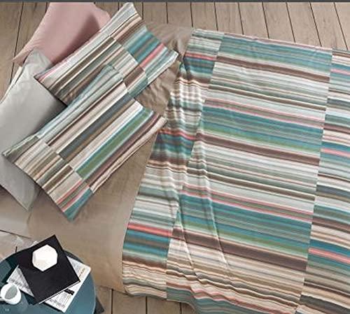 Gabel Capri - Juego de sábanas para cama de matrimonio, diseño de concha