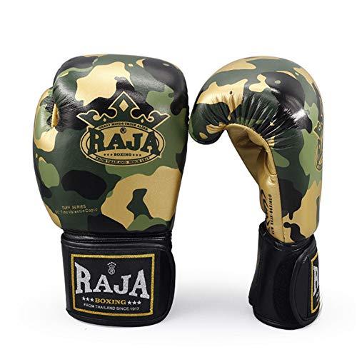 ZGHIAO Boxhandschuhe, PU-Leder, für Sparring Muay Thai Kickboxen Boxsack-Fokus Fitness, Männer und Frauen, 8oz 10oz 12oz Boxhandschuhe für Männer,8oz