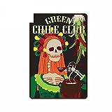 A/X 13 cm x 9 cm para Green Chile Club Anime Pegatinas de Coche Laotop Aire Acondicionado calcomanía Anime