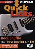 Guitar Quick Licks: Steve Lukather Style [DVD] [Import]