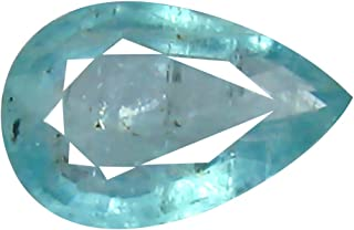 Deluxe Gems 0.48 ct Pear Cut (7 x 5 mm) Unheated/Untreated Greenish Blue Grandidierite Natural Gemstone