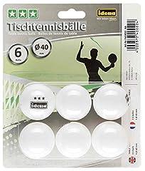 Idena 7440022 - Tischtennisbälle 6