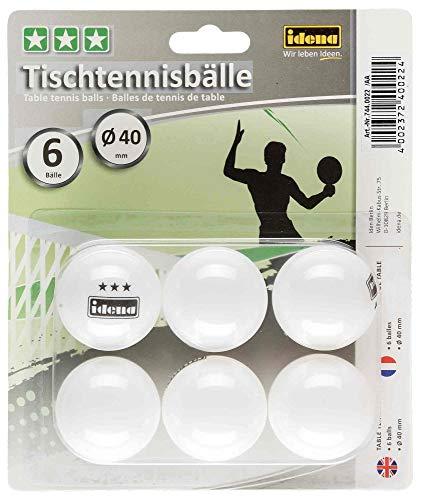 Idena Idena 7440022 - Tischtennisbälle 6 Bild