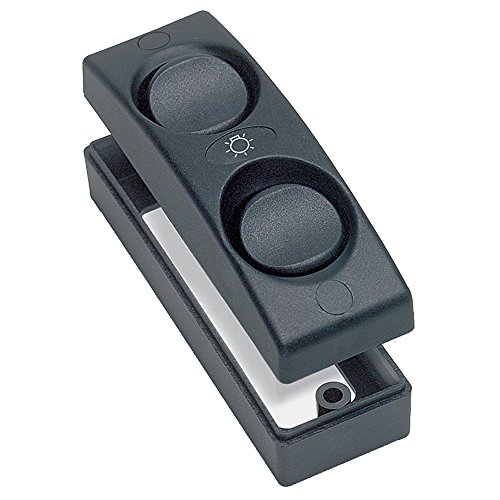 BEP On/Off Double Interior Switch, Black
