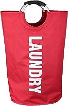 JUNQIAOMY Kosz do przechowywania, składany, duża pojemność, tkanina Oxford Hamper (kolor: czerwony)