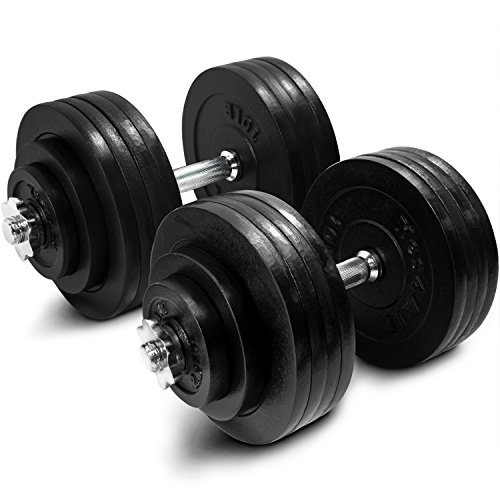 Yes4All Adjustable Dumbbells - 200 lb Dumbbell...
