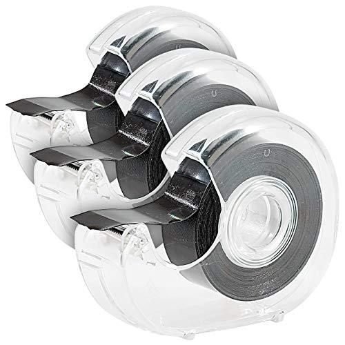 Your Design Magnet Band: 3er Pack Magnet-Klebeband jeweils 5m (Pinnwand Magnetband)