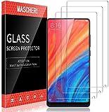 MASCHERI 3 Pièces Verre Trempé Compatible pour Xiaomi Mi Mix 2s Et Mi Mix 2 Protection écran...