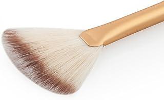 SONONIA 2本 お買い得 扇形 ブレンド フェイス パウダー ハイライト 輪郭 メイクアップブラシ 化粧ブラシ ツール