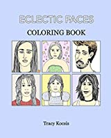 Eclectic Faces Coloring Book