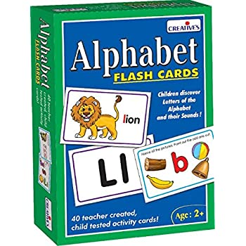 Creative Educational Aids P. Ltd. 0519 Alphabet - Flash Cards