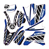 accessorypart YAMAHA WR 250 R Sticker Set Azul