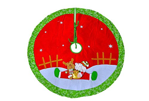 Décorations de Noël belle jupe arbre de Noël