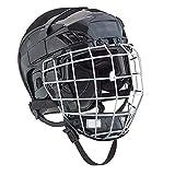 Ice Hockey Player Helmet Cage Combo Black Medium face mask