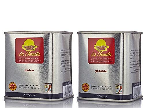 Paprika Affumicata PREMIUM La Chinata Dolce 70g y Piccante 70g