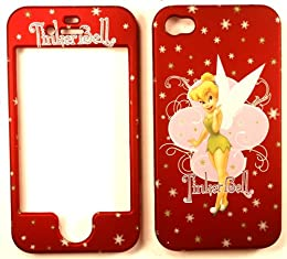 Christmas Red tinkerbell iphone case