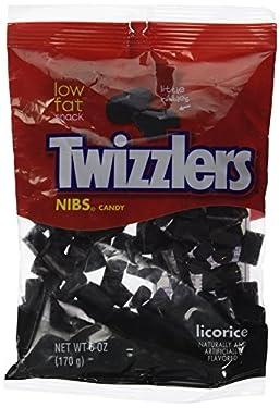 Twizzler Licorice Nibs, 6 oz (Pack de 4)