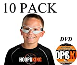 HOOPSKING Tipo de Baloncesto Gafas 10 Pack Plus Workout DVD