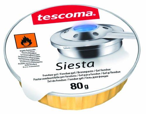 Tescoma 707050 JGO 3 UDS GEL PARA FONDUE SIESTA, Multicolor