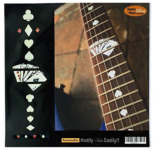 Inlaystickers Autocollants pour manche de guitare
