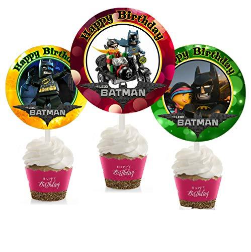 Crafting Mania LLC. 12 Batman Movie…