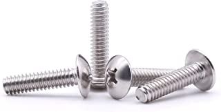 Flat Head Stainless Steel Machine Screw 1-1//2 Length BRIGHTON-BEST INTERNATIONAL B000FN3R84 Plain Finish Phillips Drive 1-1//2 Length Pack of 100 #6-32 Threads