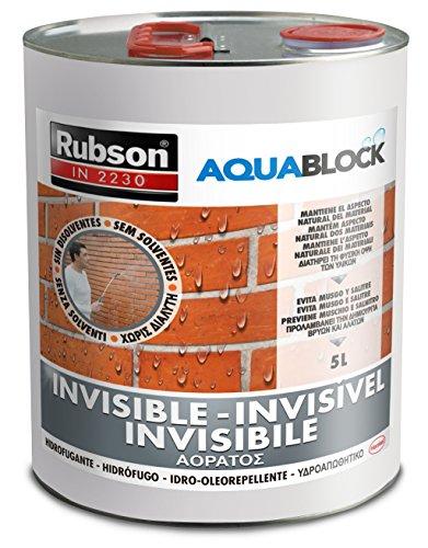 IMPERMEABILIZZANTE INVISIBILE LT 2,5 MUSCHI LICHENI IDROREPELLE RUBSON Aquablock