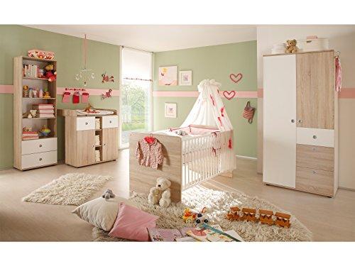 Babyzimmer Kinderzimmermöbel Komplettset Babymöbel Set (4-teilig)