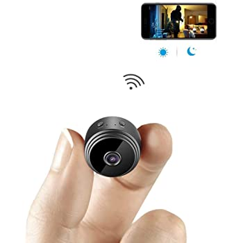 Fangle HD WiFi Small Mini Wireless Hidden Spy Camera, Cloud Based Storage, Night Vision, Motion Detection Camera cam 1080P (120 GB, 4 Channel)