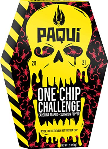 Paqui 2021, One Chip Challenge, 0.21 Ounce