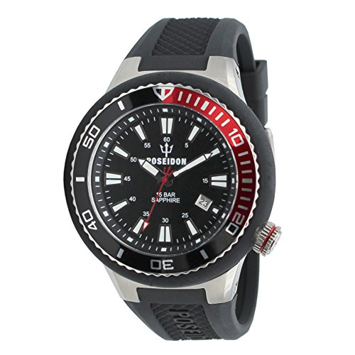 POSEIDON by KIENZLE Uhr Analog mit Silikon Armband UP00501