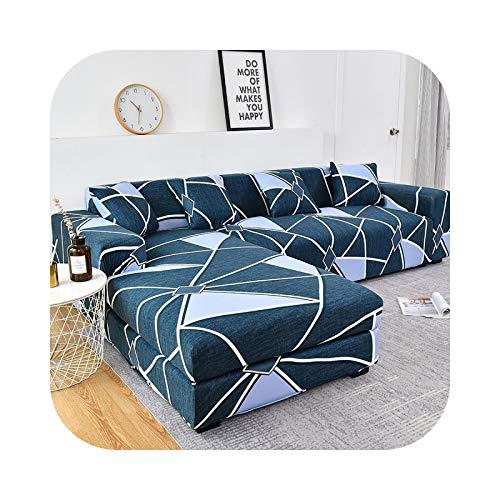 Funda de sofá de algodón, fundas elásticas para sofá o cama, de 145 a 185 cm
