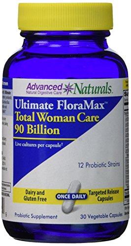 Advanced Naturals Ultimate Floramax Total Woman Care 90 Billion Caps, 30 Count
