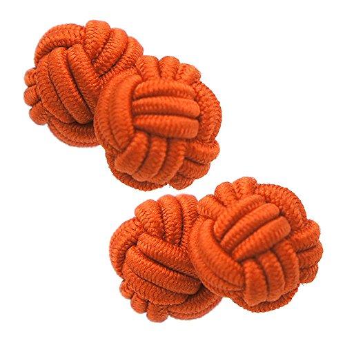 ガムカフス レッド オレンジ(ゴムカフス カフスボタン カフリンクス)nsgum005-9