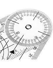 Regla De La Columna Vertebral Médica Del Ángulo Del Goniómetro De 360 grados CM/PULGADA ruler