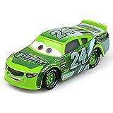 QEEN Pixar Cars Metal del vehículo 3 Nº 95 Rayo Mcqueen Mater Jackson Ramírez tormenta aleación Boy Kid Juguetes 2 Coches (Color : No.24)