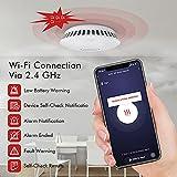 Immagine 1 gafild rilevatore fumo wifi smart