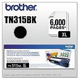 Brother TN315BK High Yield Toner Cartridge - Black - Laser - 3500 Page - 1 Each