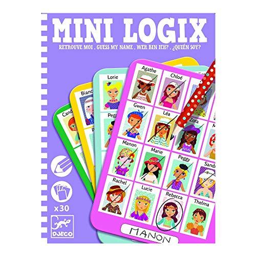 Djeco - Mini-logix quien...