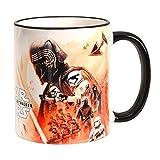 Elbenwald Star Wars Keramik-Tasse The Rise of Skywalker Dunkle vs. Helle Seite Collage 320ml