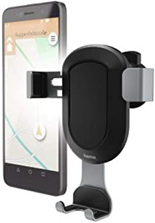 HAMA 183203 Gravity Universal Smartphone Holder - Black