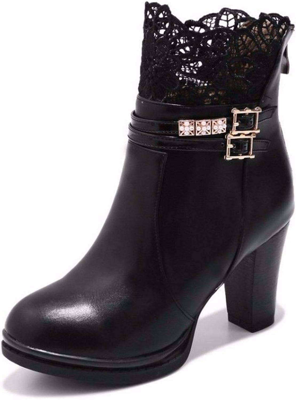 Women's lace high Heeled Women's shoes