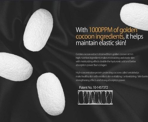 JMsolution Water Luminuous Golden Cocoon Mask Black 45g x 10ea