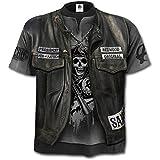 Spiral Mens - Jax Wrap - allover Licensed T-Shirt Black